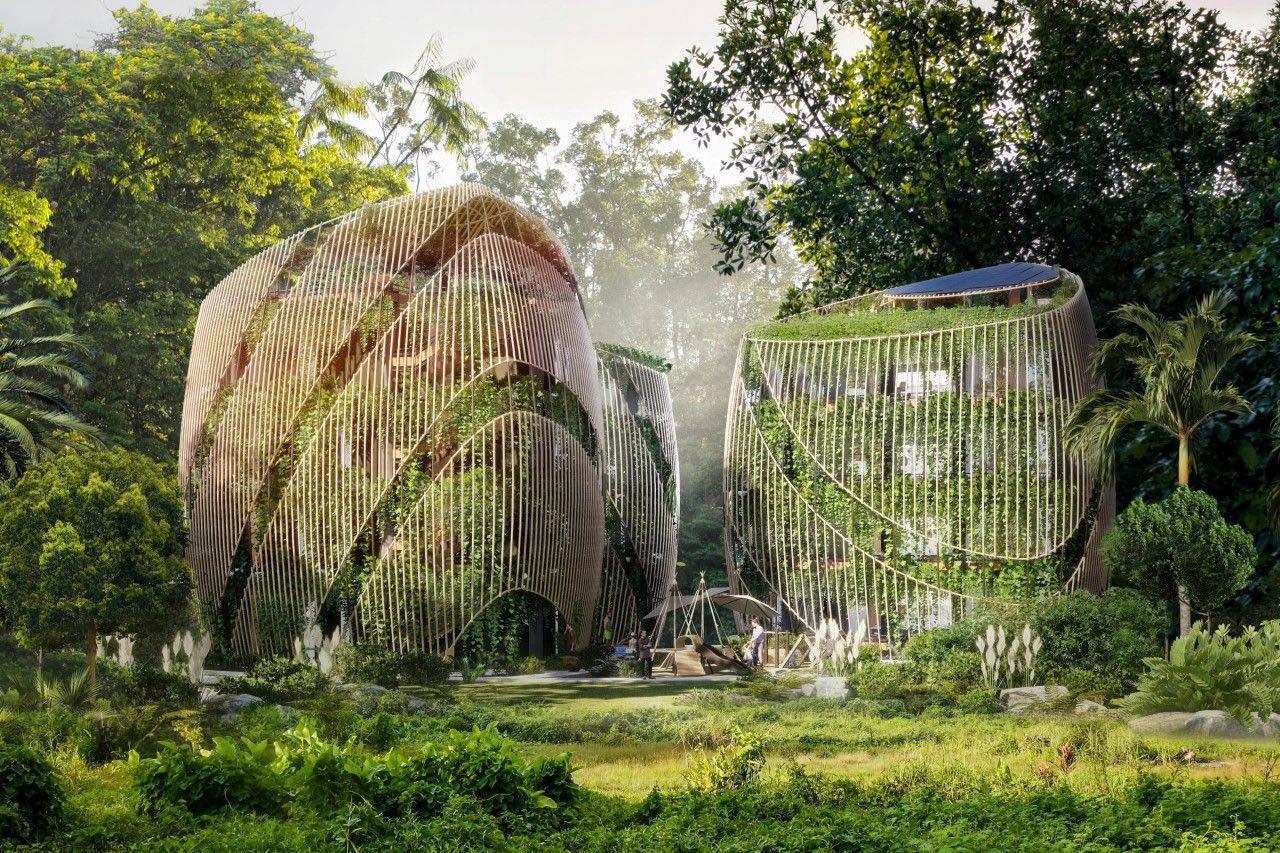 У Мексиці зелені будинки з сонячними панелями