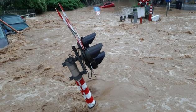 Затоплені вулиці Бельгії