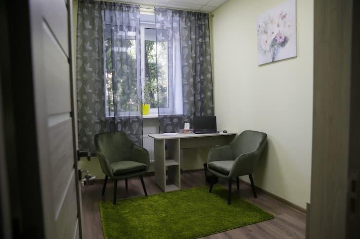 Зелена кімната для дітей-свідків