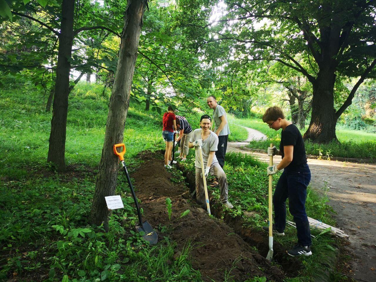 Дерева у дендрарії Національного ботанічного саду імені Миколи Гришка страждають від змін клімату: у ботсаду знайшли рішення