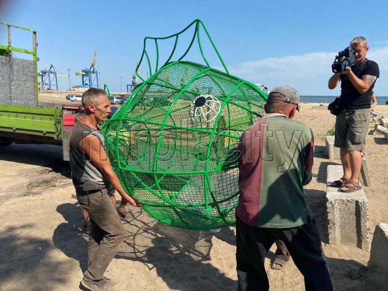 риба для збору пластику
