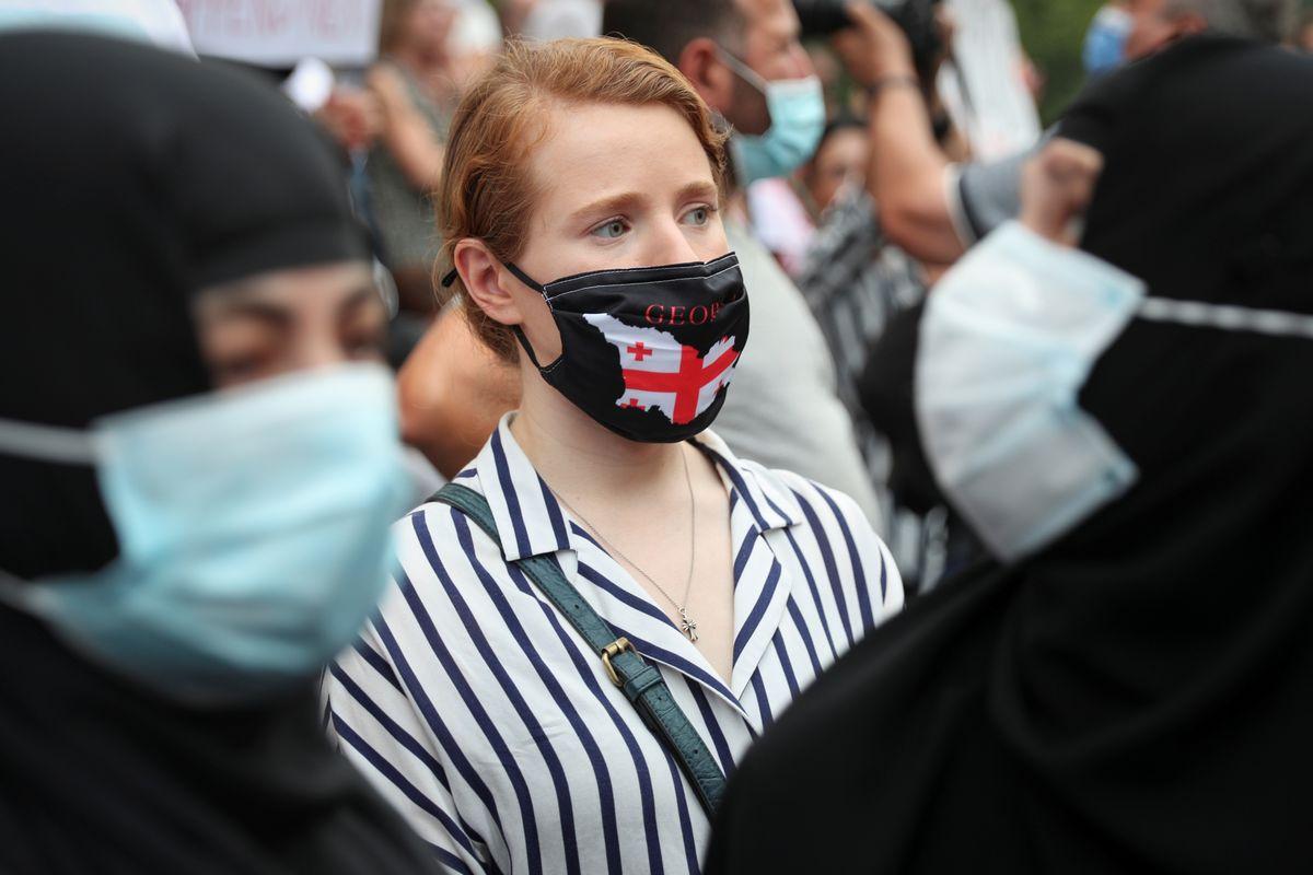 тбілісі грузія протест