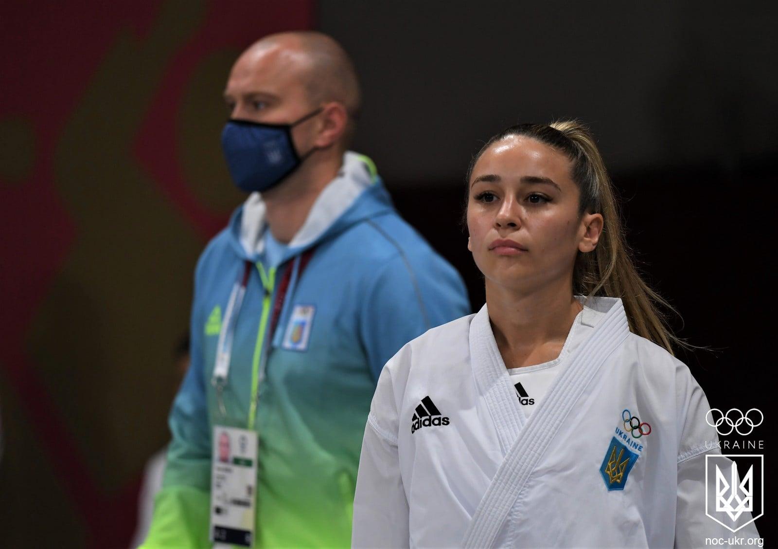 Українська каратистка Анжеліка Терлюга виборола срібну медаль Олімпіади в Токіо.