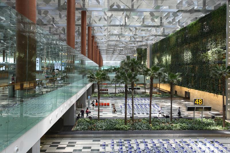 аеропорт Чангі в Сінгапурі