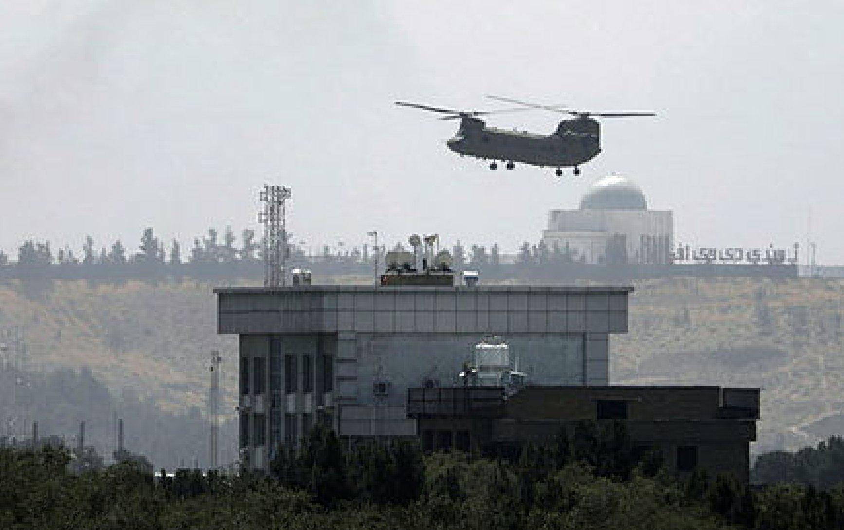 Евакуація американських дипломатів із Кабулу