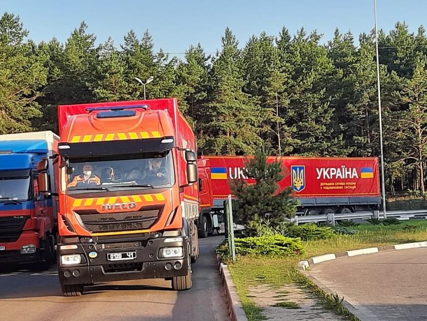 Гуманітарний вантаж для Литви