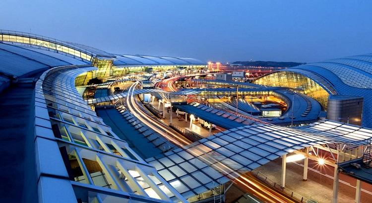 аеропорт Інчхон в Сеулі, Південна Корея