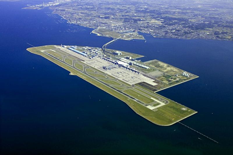 аеропорт Кансай в Осаці, Японія