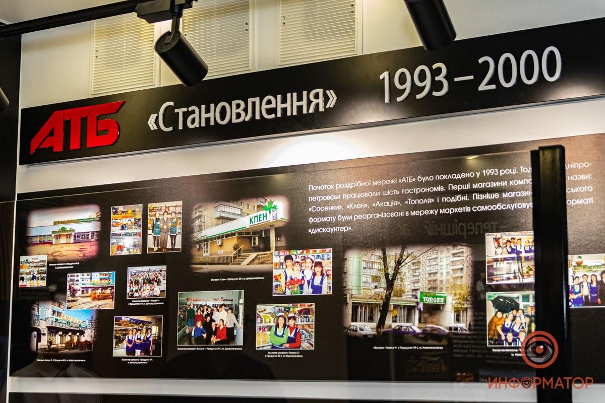 Компанія АТБ відкрила музей своєї історії
