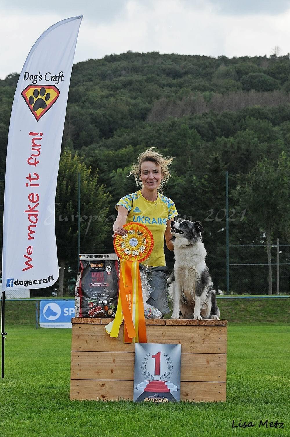 Українська спортсменка привезла золото та дві бронзи Чемпіонату Європи з Обідієнс