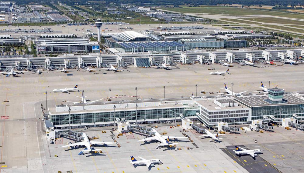 аеропорт мюнхен