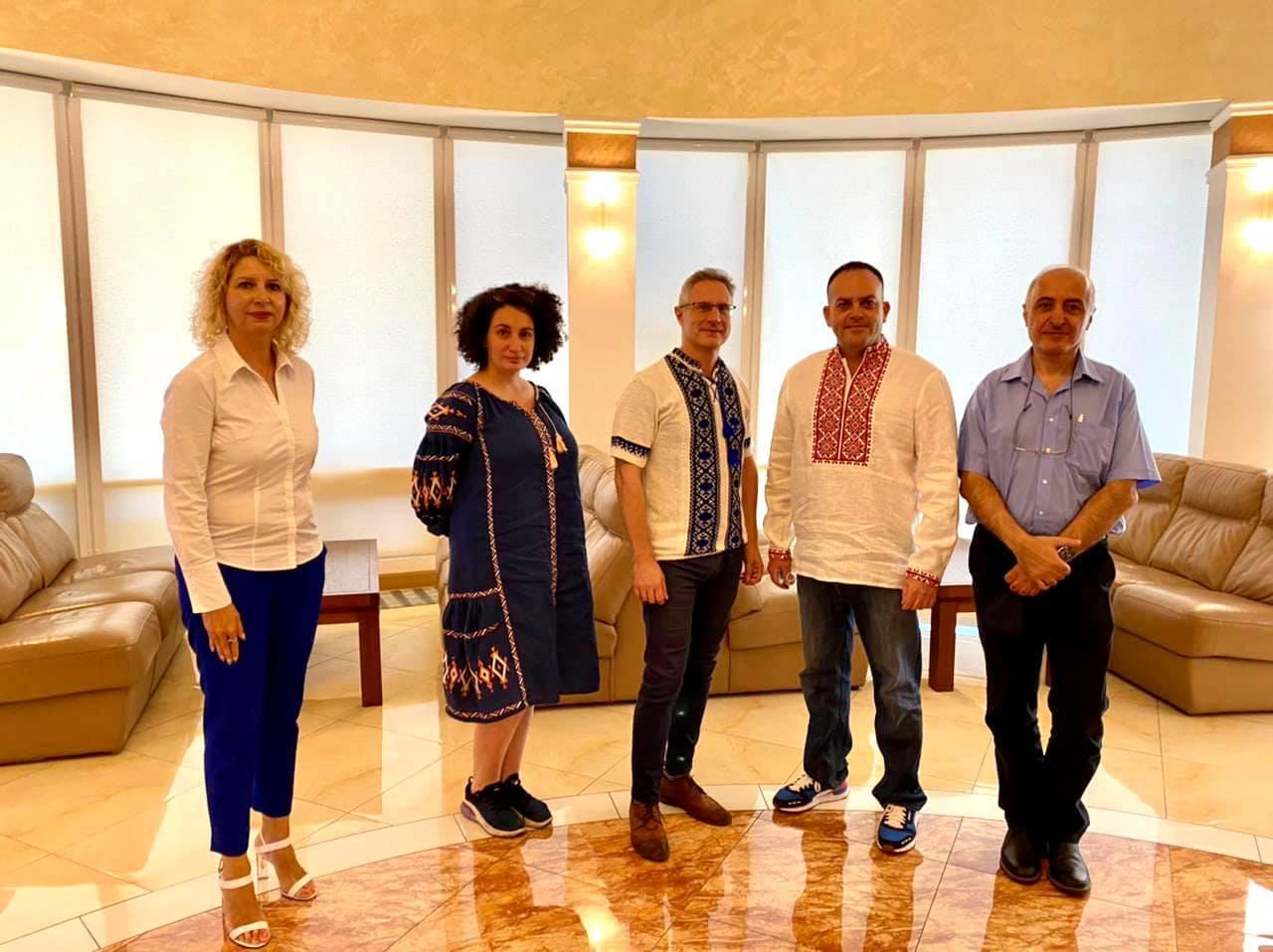 Новий посол Ізраїлю прибув до України2