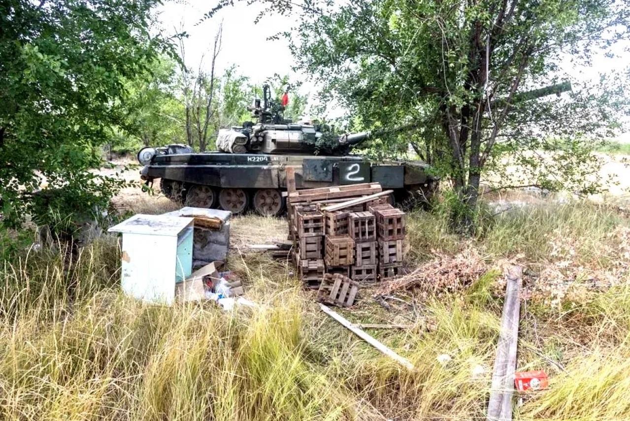 Покинутий Т-90