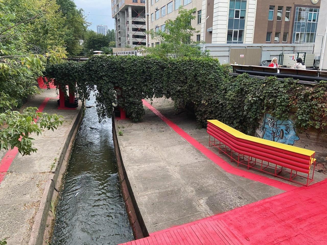 Проект громадського простору на Либіді