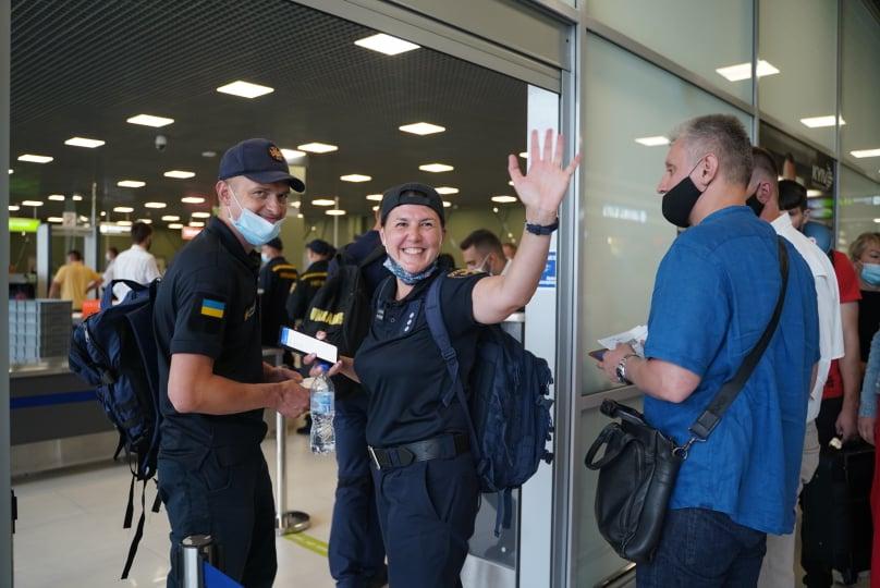 Українські пожежники вилетіли до Греції