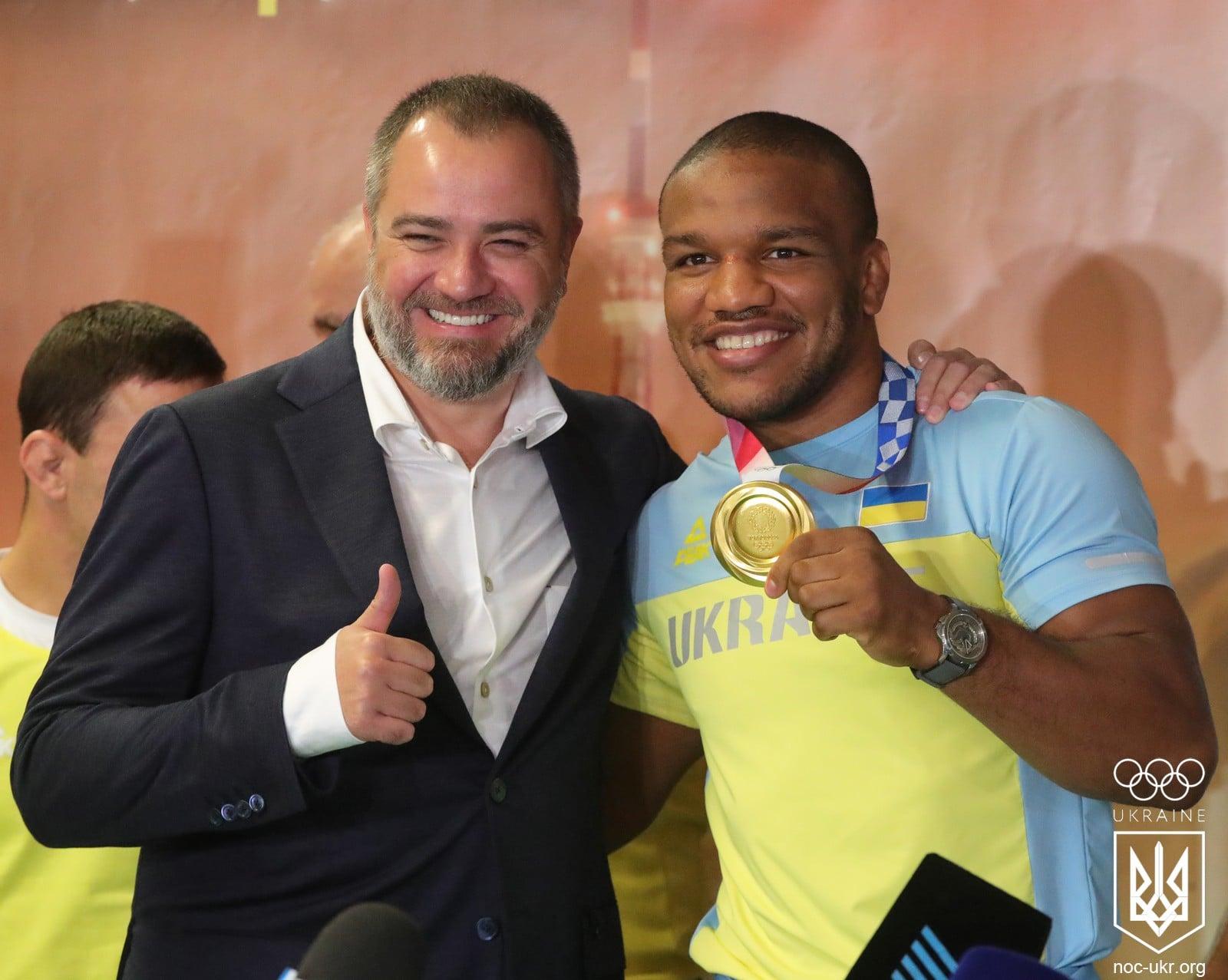 Жан Беленюк прибув з Олімпіади