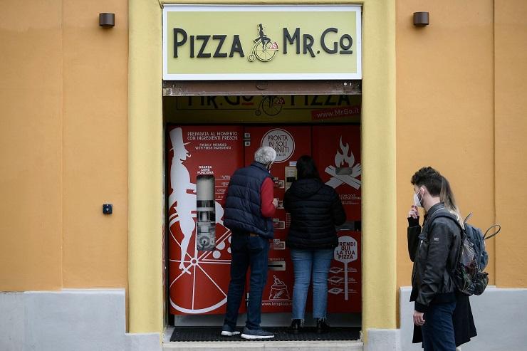 автомат з продажу піци