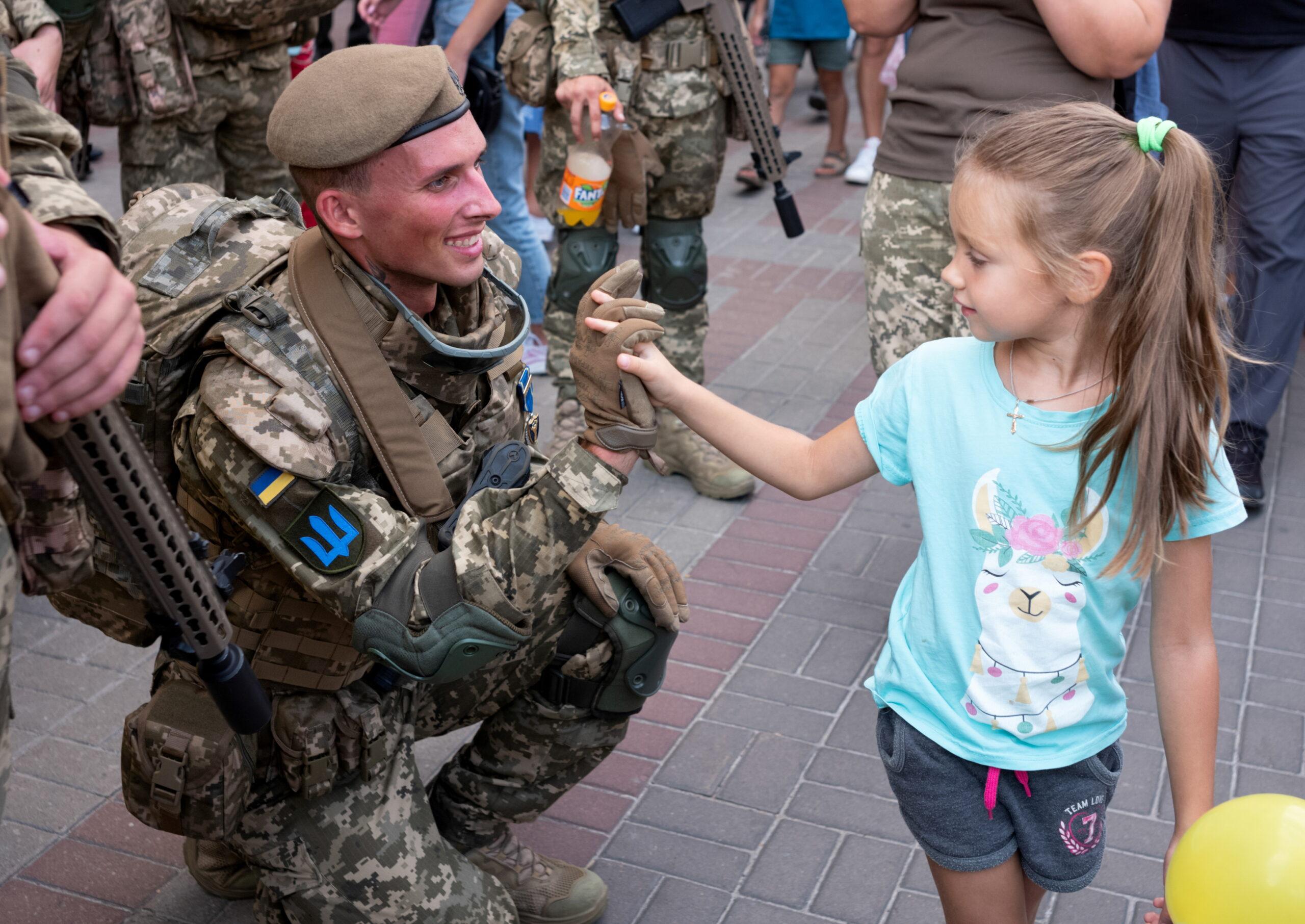 репетиція параду до Дня Незалежності України