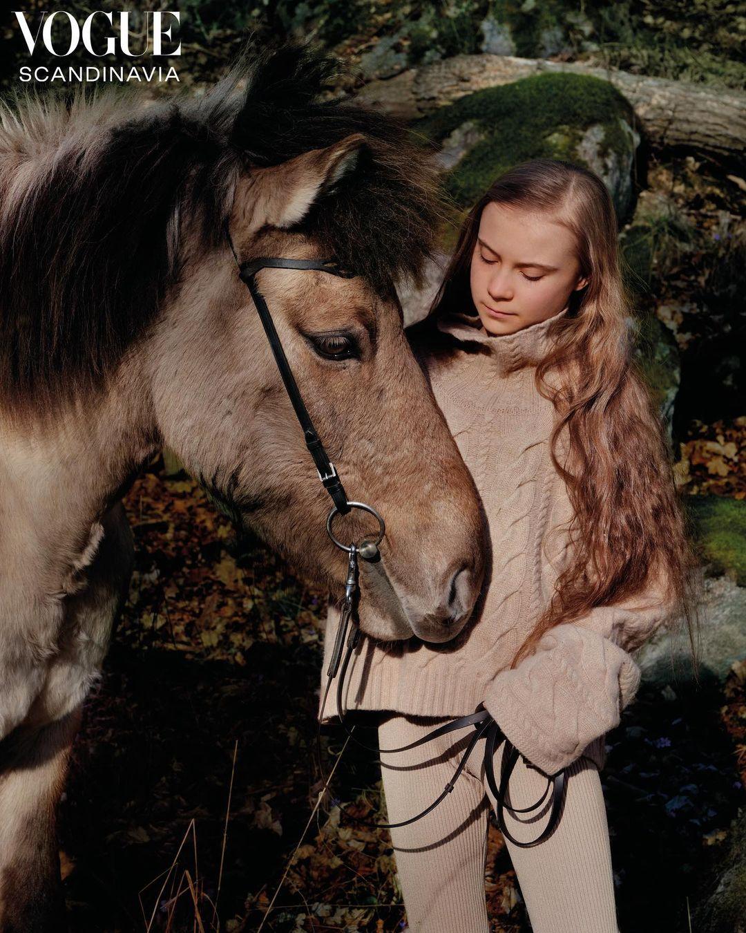 Грета Тунберг знялася для обкладинки Vogue