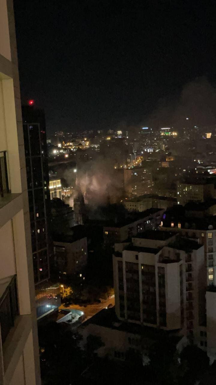 Пожежа Костел Миколая