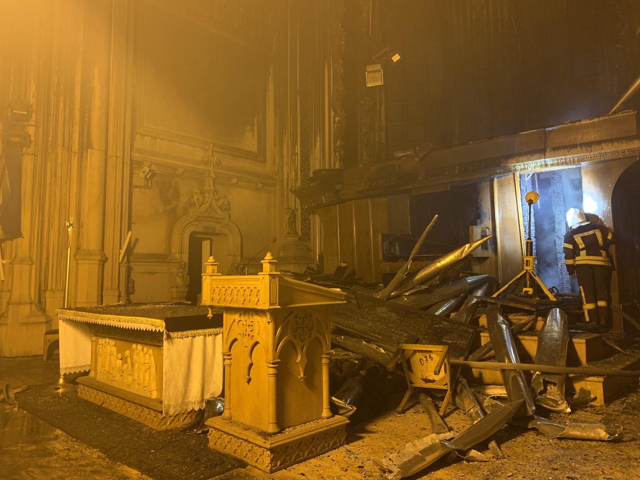 Пожежа в Костелі