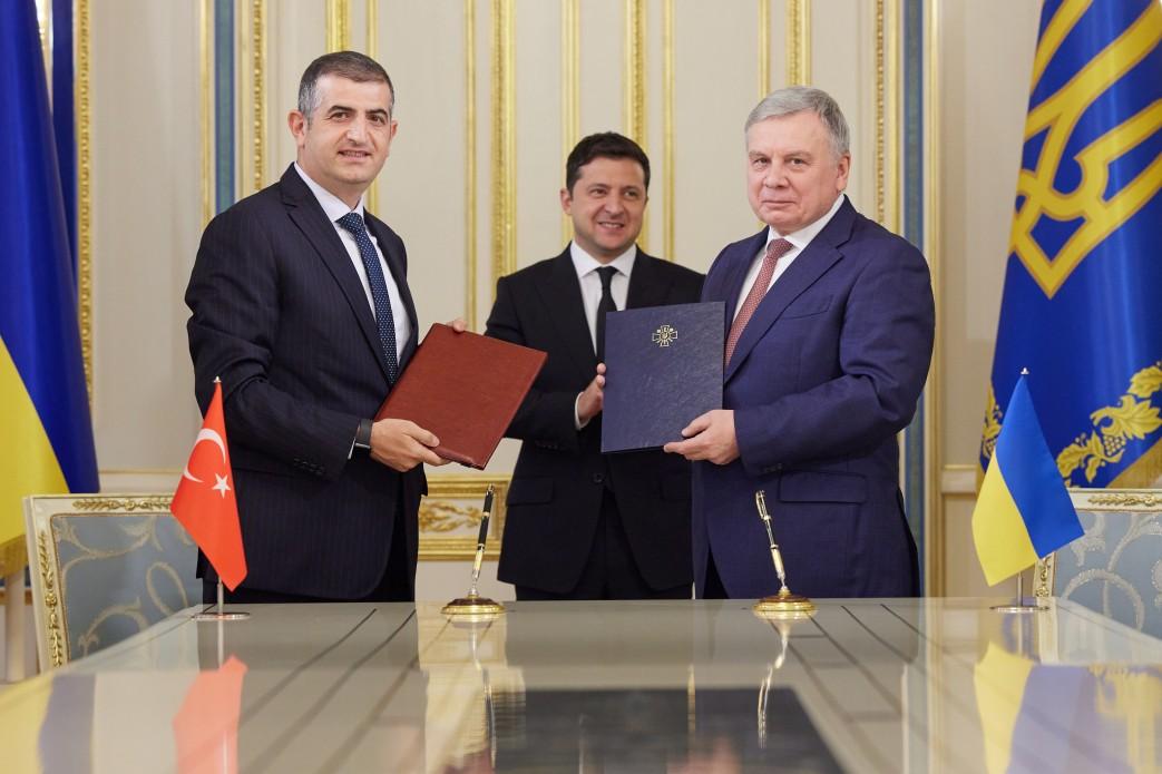 Україна та Туреччина безпілотники