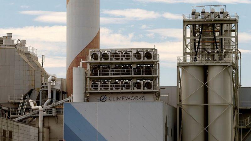 Завод із переробки вуглекислого газу
