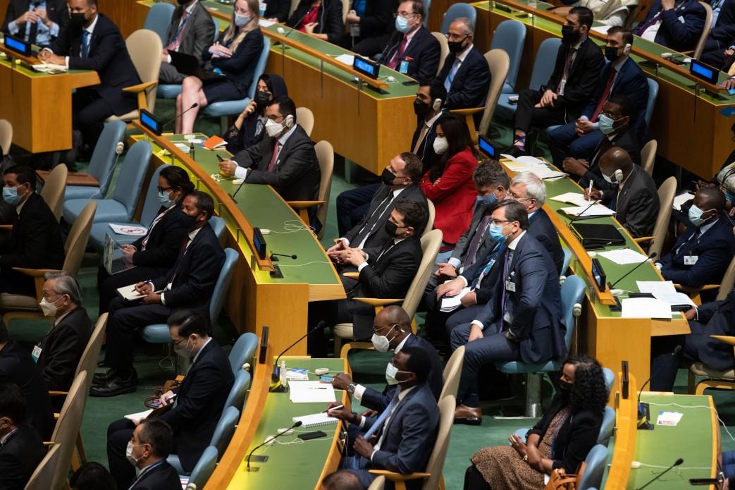 Зеленський взяв участь у відкритті 76-ї сесії Генасамблеї ООН2