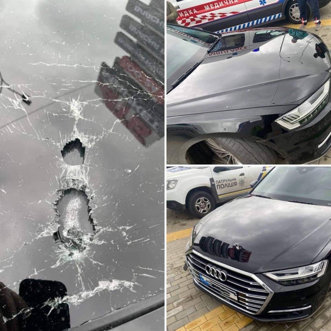 Біля Лісників стріляли в авто першого помічника Зеленського Шефіра