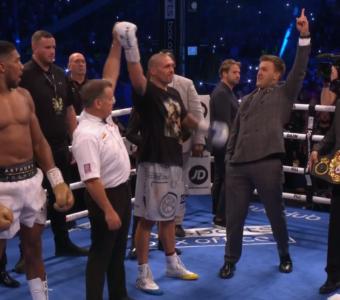 Oleksandr Usyk defeats Anthony Joshua in London