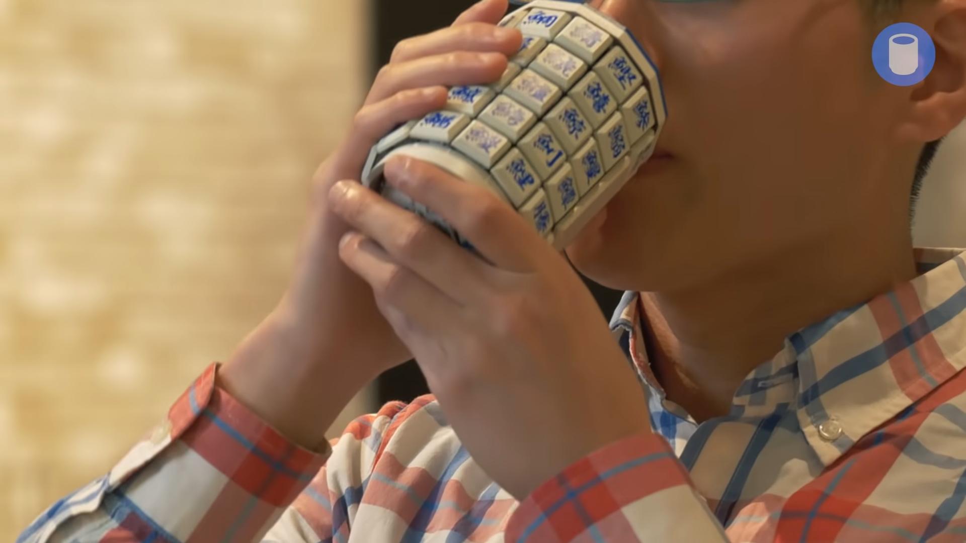 Японський відділ Google розробив чашку-клавіатуру1
