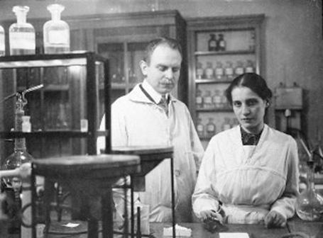 Ліза Мейтнер і Отто Ган