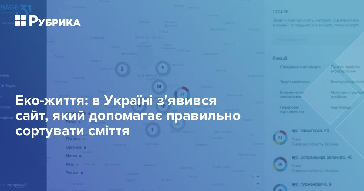 Еко-життя  в Україні з явився сайт e61b83358d13d